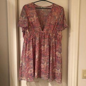 Show Me Your Mumu Austin Dress in Blushing Paisley